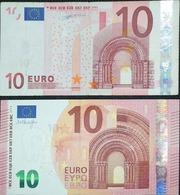 2 Billetes De 10 Euros El De Duisenberg G002B6 De España Y El De Draghi E00445F - EURO