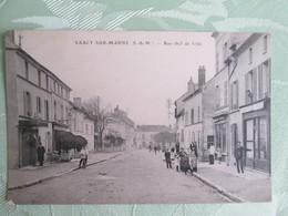 Saacy Sur Marne . Rue Chef De Ville . Cachet Militaire - Other Municipalities
