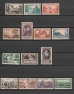 FRANCE - TIMBRE POSTE - 1940 - Y&T : LOT 1 ANNEE 1940 - NEUF* - VOIR DESCRIPTIF - 2 SCANS (RECTO/VERSO) - Frankreich