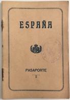 Passeport Espagnol Valable Pour La France. España. Pasaporte. Délivré En 1931 à Palma De Mallorca. Fiscal. Dependiente. - Documents Historiques