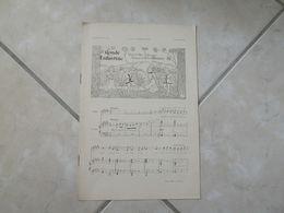 Ronde Enfantine & Barchetta -(Musique Marcel Rousseau)- Partition (Piano Et Chant) - Instruments à Clavier