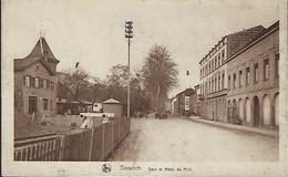 DIEKIRCH  -  Avenue De La Gare - Hôtel Du Midi   E.A.Schaack,Luxembg - Autres