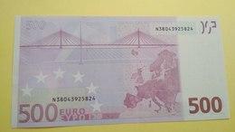 500 EURO AUSTRIA(N), F005  UNCIRCULATED, TRICHET - EURO