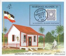 Marshall-Inseln Block6 (kompl.Ausg.) Postfrisch 1989 Postgeschichte Der Marshall-Inseln - Marshall Islands