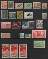 CHINE / CHINA - DEPART 1€ - PETITE COLLECTION / LOT De TIMBRES NEUFS (AVEC ET SANS GOMME) & OBLITERES - Collections, Lots & Séries