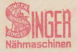 Meter Cut Germany / Deutsches Reich 1938 Sewing Machine - Singer - Costumes