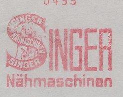Meter Cover Deutsches Reich / Germany 1929 Sewing Machine - Singer - Kostüme