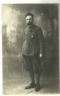 "3893 ""TENENTE CAPPELLANO-I WW"" FOTO ORIGINALE - Guerra, Militares"