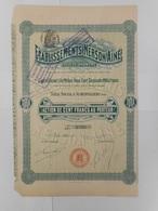 Ets NERSON Ainé  1909 AUBERVILLIERS - Aandelen