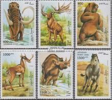 Afghanistan 1784-1789 (kompl.Ausg.) Gestempelt 1998 Prähistorische Säugetiere - Afghanistan
