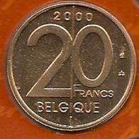 20 Frank 2000 Frans * Uit Muntenset * FDC - 1993-...: Albert II