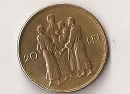 ROUMANIE 20 LEI ROI MIHAI I  MICHEL 1er 1930 - Romania