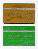Lot De 2 Télécartes Autrichiennes - Zwei Telefon-Wertkarte - Österreich Austria Autriche - Phonecards - Autriche