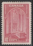 Canada 1935 - 241a, 10c - Memorial Chamber - MH - Unused Stamps