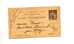 Carte Telegramme 30 - Pneumatic Post