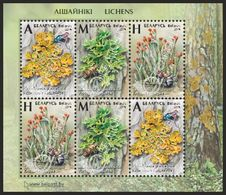 Pre-order Belarus 2019 - Lichens, S/s MNH. Flora Licheni Lichen Korstmos Korstmossen Bielorussia/Biélorussie/Wit-Rusland - Belarus