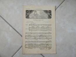 Songe Encore & La Troupe Jolicoeur -(Musique Robert Franz & A. Coquard)- Partition (Piano Opéra) - Instruments à Clavier