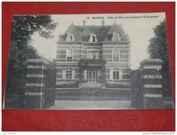 """BRUXELLES -  WATERMAEL-BOITSFORT  - """" Villa Altena """" De Mme La Comtesse D'Oultremont - 1909   - - Watermael-Boitsfort - Watermaal-Bosvoorde"""