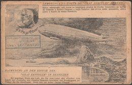 Lembrança Da Visita Do Graf Zeppelin Ao Brasil, C.1930 - Bilhete Postal - Aeronaves
