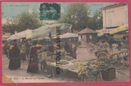 06 - NICE----Le Marché Aux Oignons---animé---colorisée - Markets, Festivals