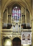 2.12...2008  - Luxembourg - Grande Orgues De La Cathédrale Notre Dame Consolatrice Des Affligés Impr. Linden,Luxembg - Cartoline Maximum