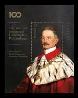 Poland 2019 Mih. 5114 (Bl.284) Medicine. Gynecologist Heliodor Swiecicki, Founder Of Poznan University MNH ** - Unused Stamps