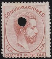 ESPANA  .      Yvert   138    .       O       .         Cancelled      .    /   .  Oblitéré - 1873 1a Repubblica