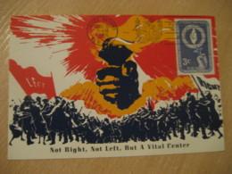 NEW YORK 1955 Human Rights Maxi Maximum Card United Nations UN USA - New-York - Siège De L'ONU