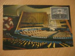 NEW YORK 1956 General Assembly Maxi Maximum Card United Nations UN USA - New-York - Siège De L'ONU