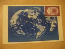 NEW YORK 1956 Human Rights Maxi Maximum Card United Nations UN USA - New-York - Siège De L'ONU