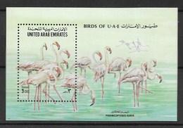 UNITED ARAB EMIRATES 1994 Flamingos - Flamencos