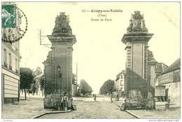CREPY EN VALOIS  (60)  - LA PORTE DE PARIS -1912    Bb-662 - Crepy En Valois