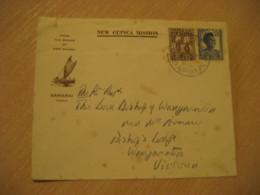 RELIEF ? Samarai 1965 To Victoria Australia Bishop Mission 2 Stamp On Cancel Cover PAPUA NEW GUINEA - Papua New Guinea