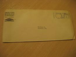 PERU Illinois To Rockford American Nickeloid Company Metals Meter Mail Cancel USA - Peru