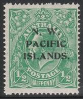 Australia 1915 - SG 65, 1/2d - KING GEORGE V - HEADS - N.W. PACIFIC ISLANDS. / NEW GUINEA - MNH - 1913-36 George V: Heads
