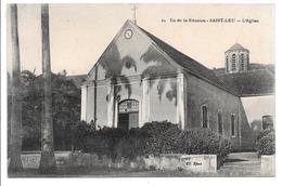 Ile De La Réunion. - Saint-Leu . - L'Eglise. - La Réunion