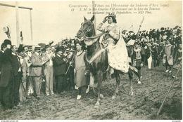 60 - COMPIEGNE  -   - 1909 JEANNE D ARC CHARLES VII ARRIVANT SUR LA LICE N° 37  - Bb-663 - Compiegne