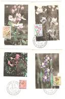PR6527/ Belgisch Congo Belge Carte Maximum Fleurs 302/323 Manque Le 307 - Sonstige