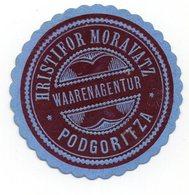MONTENEGRO, PODGORICA, POSTER STAMP, 3.7 Cm  DIAMETER - Montenegro