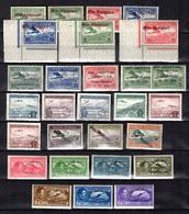 Albanie Belle Collection De Poste Aérienne Neufs Et Oblitérés 1925/1950. Bonnes Valeurs. B/TB. A Saisir! - Albanien