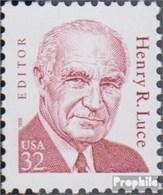 Etats-Unis 2948 (complète.Edition.) Neuf Avec Gomme Originale 1998 Personnalités - Henry R. Luce - Stati Uniti