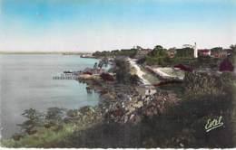 AFRIQUE NOIRE - COTE D'IVOIRE - ABIDJAN : Vue Sur La Lagune Stade Monument Morts - CPSM Dentelée  PF - Black Africa - Ivory Coast