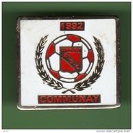 FOOT *** A.S.C COMMUNAY *** 1010 - Calcio