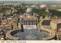 CPAM    ROMA  PIAZZA S PIETRO  ECRITE 1970  409 - Roma (Rome)