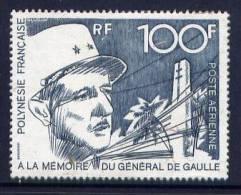 Thème Général De Gaulle - Polynésie - Yvert PA 70 NSG - De Gaulle (General)