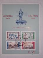 Plaquette De 1966 Culturelle - Statue AMBIORIX - 1961-1970