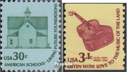 Etats-Unis 1394,1404 (complète.Edition.) Neuf Avec Gomme Originale 1979 Americana - Township School - United States