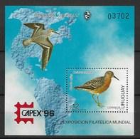 URUGUAY 1996 CAPEX96 - Expositions Philatéliques
