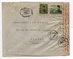 - Lettre CENSURÉE LE CAIRE (Egypte) Pour PARIS 15.11.1951 - A ETUDIER - - Egypt