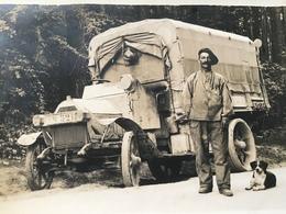 Carte Photo Camion Militaire  TM 521     / 1918  Voir Photos - Trucks, Vans &  Lorries